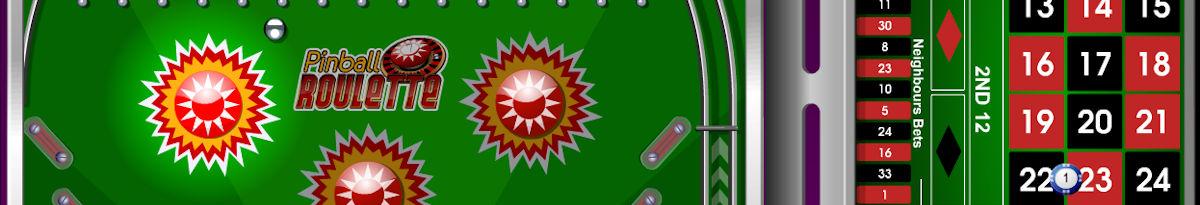 Pinball rulet